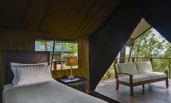 The Accommodation at Arnhem Land Barramundi Lodge
