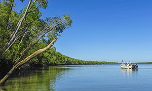 The Location of the Arnhem Land Barramundi Lodge