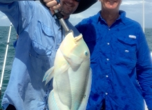 Andrew & Greg Willims with a nice Bluebone
